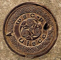 Manhole cover, Ireland