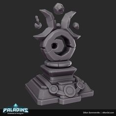 Fantasy World, Fantasy Art, Portal, Game Props, Heroes Of The Storm, Game Assets, Paladin, Zbrush, Game Art