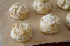 Rosemary and White Cheddar Biscuits... I can just imagine how great these must smell as they bake!