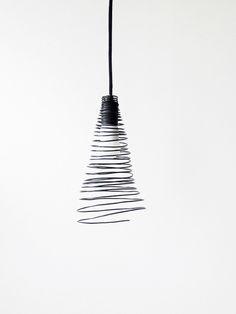 DIY wire lamp shade
