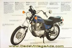 1980 Kawasaki KZ250LTD Brochure