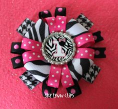 Revamped Minnie Mouse Birthday Bow (#1-9 available) <3
