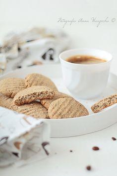 Kawowe ciasteczka owsiane z makiem