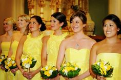 Bridesmaids dresses by Alfred Sung #brideside #bridesmaids $170