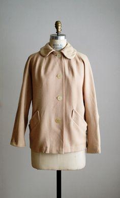 1940s blush wool jacket