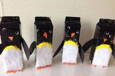 Pingviner af Mælkekartoner