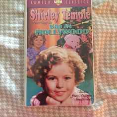 Shirley Temple's A Kid in Hollywood Classic Collection VHS America's Sweetheart