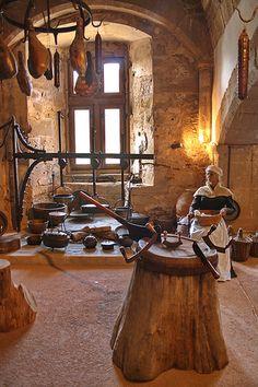 medieval kitchen - Google Search