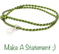 Pearl And Peridot Drop Pendant On Silk Cord ~ Sold Out Online!