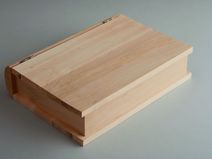 Schatulle Holz Rohling