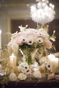 Wedding flowers - Do you want beautiful wedding flowers for your wedding? Let us help you choose the right wedding flowers for you! The Free guide of ours has help many make a choice fast and easy. Wedding Events, Our Wedding, Dream Wedding, Weddings, Wedding Table, Wedding Flower Arrangements, Floral Arrangements, Floral Wedding, Wedding Flowers