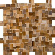 Artistic Tile | Miles Modular Jazz Glass Light Brown | Full of life and pizzazz, Jazz Glass™ is the opposite of dull and drab. Be daring; activate your space with our vivacious Jazz Glass™ patterns. Beautiful color and intricate hand-work make these mosaics truly one-of-a-kind. Bring the energy of Louis Armstrong and Miles Davis into your home!