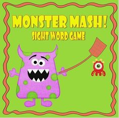 Free and Fun! Great as a word work game for first and second grade dolch sight words!