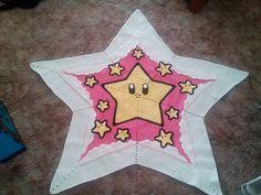 Ravelry: MrsAmyS's Mario Star Baby Blanket