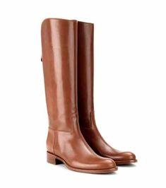 Wellington leather knee boots | Loro Piana