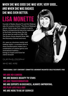 Creator of Badass Beauty TV- Lisa Monette Come join our movement!!