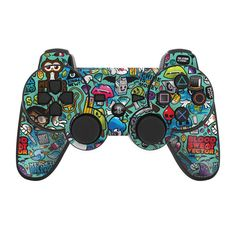 Skin Kit For PS3 Controller Vinyl Sticker Licensed Art Decal Cover Jewel Thief