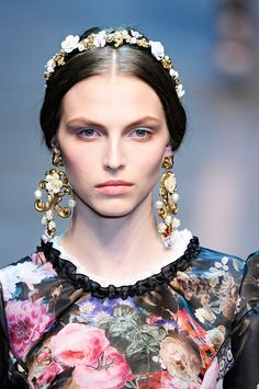 Dolce & Gabbana Fall 2012 – Vogue