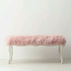 Perfect. Girly. Pink. Fluffy. Walk in closet. Bedroom. Seat.