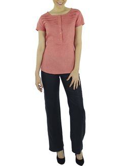 Blusa Agata #moda #lino #SS2015 www.abito.com.mx