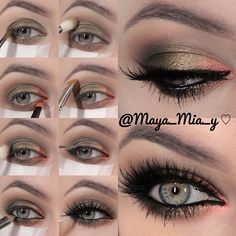 .@maya_mia_y | Pictorial of todays look 1.Apply Mac Xtreme Mettalics Vintage Coin cream s... | Webstagram - the best Instagram viewer