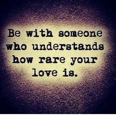 Message for the kids - you should be with someone who makes you feel extraordinary because they appreciate your love