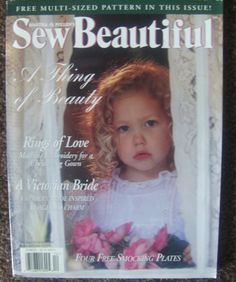 Sew Beautiful magazine #2 1997 heirloom sewing smocking patterns embroidery  Special Ocassions 1997 Issue on sale $1.99
