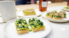Cha Le Tea Merchant Vancouver Yaletown Nomss Delicious Food Photography Healthy Travel Lifestyle Vancouver Food, Bruschetta, Avocado Toast, Delicious Food, Food Photography, Healthy Recipes, Tea, Lifestyle, Breakfast