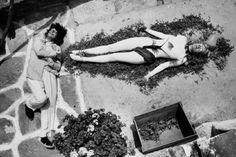 Werner Bokelberg :: Salvador Dalí and Lotte Tarp, 1965