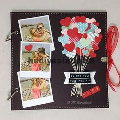 Diy gifts photo album scrapbook ideas for 2019 Scrapbook Bebe, Couple Scrapbook, Scrapbook Journal, Wedding Scrapbook, Scrapbook Designs, Scrapbook Page Layouts, Scrapbook Ideas For Couples, Scrapbook Ideas For Boyfriend, Scrapbook Ideas For Beginners