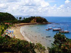 isla frades, bahia, brasil. beach, sun http://vanezacomz.blogspot.com.br/2014/11/passeio-de-escuna-pela-baia-de-todos-os.html
