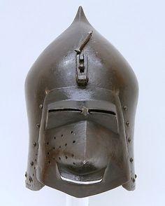 Bascinet, MET, New York 1400-1420 German ref_arm_2136