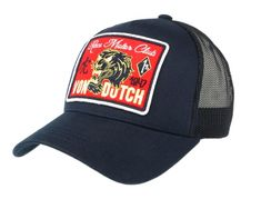Casquette Von Dutch Bleu marine Famous Motogp, Hat Patches, Bleu Marine, Baseball Hats, Cap, Pure Products, Vintage Mode, T Shirt, Sombreros