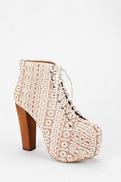 Jeffrey Campbell Crochet Lita Boot