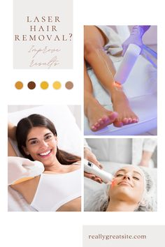 Laser hair removal is a cosmetic procedure that reduces hair growth by up to 95%. The success of the treatment will depend on several factors. Some, you cannot control as they relate to genetics, hair color or skin tone. Infinity Laser Spa, Best Laser Hair Removal, Cosmetic Procedures, Beauty Spa, Genetics, Hair Color, Skin Care, Haircolor, Skincare Routine