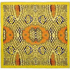 Yellow snake scarf | Ottoline