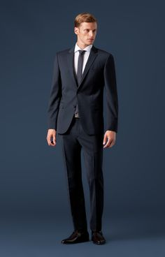 Anzug Finch-Brad in Marine von Joop