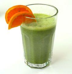 Een groene smoothie als ontbijt is als een medicijn voor een goed gevoel voor de rest van de dag!