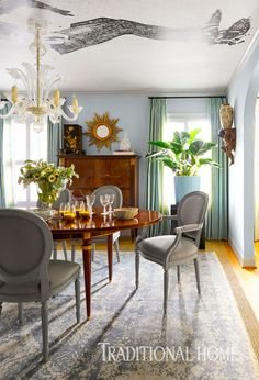 French Flair in a Dallas Ranch Home | Traditional Home