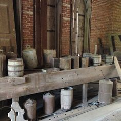 When the Civil War broke out, the workers dropped their tools and left.  Many of their tools are still displayed in the home. Longwood | Natchez, MS.