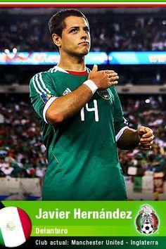 Javier Hernández Como de que no! Claro como no acordarme Del nombre: El Chicharito!