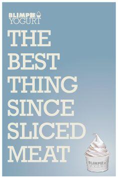 Concept for Blimpie Yogurts ad campaign.