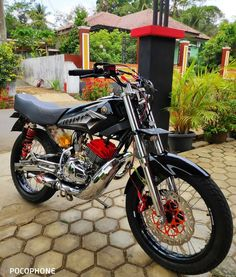 Simple tapi sederhana Satria Fu, Yamaha Rx100, Drag Bike, Cafe Racer Build, Kawasaki Ninja, Mini Bike, Dirt Bikes, Custom Bikes, King