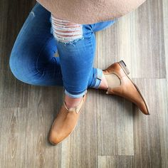 WHIP IT REAL GOOD // Our 'Whippy' style boot will become your go-to! With a 2cm heel height - you can wear them all day long! Also available in other colours so if tan ain't your thing - don't worry, be! #EvansShoes