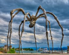 "Louise Bourgeois on Spiders: ""I come from a family of repairers. The spider is a repairer ..."""