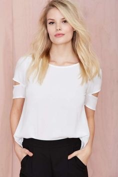 With the Band Tee | Shop What's New at Nasty Gal