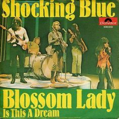 Shocking blue Mariska Veres, Rock Album Covers, Shocking Blue, Heavy Rock, Vintage Rock, The Rock, Rock Bands, Baseball Cards, Lady