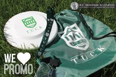 Promo products produced for Tuck!
