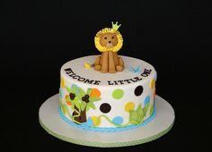 Jungle lion cake by cakesbyelisa, via Flickr