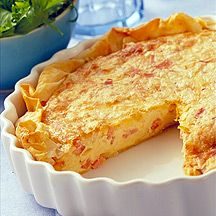 Bacon and Swiss Quiche 3 Points+